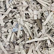 Shredded Paper Print by Blink Images