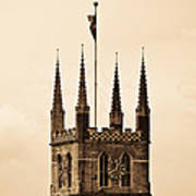 Southwark Cathedral London Art Print
