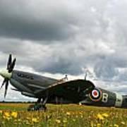 Spitfire Mk Ixb Art Print