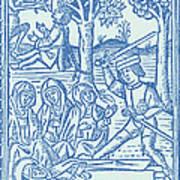 St. Catherine, Italian Philosopher Art Print