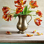 Still Life With Tulips Art Print