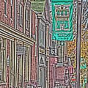 Streets Of Bel Air Art Print