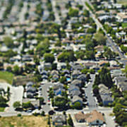 suburban community poster