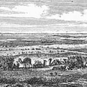Suez Canal, 1869 Art Print