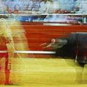 Tauromaquia Bull-fights In Spain Art Print