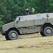 The Dingo 2 In Use By The Belgian Army Art Print