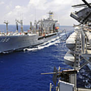 The Military Sealift Command Fleet Art Print