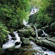 Torc Waterfall, Killarney, Co Kerry Art Print
