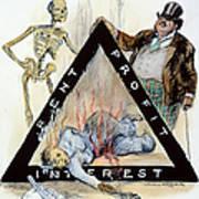 Triangle Factory Fire Art Print