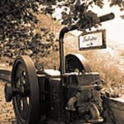 Vintage Machinery Art Print