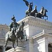 Vittoriano. Monument To Victor Emmanuel II. Rome Art Print