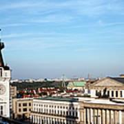 Warsaw Cityscape Art Print
