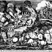 Washington Burning, 1814 Art Print