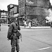 Washington: Riots, 1968 Art Print