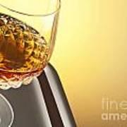 Whiskey In Stem Glass Art Print