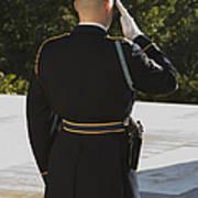 Honor Guard At The Tomb Art Print
