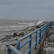 Hurricane Sandy Art Print