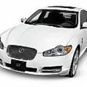 2009 Jaguar Xf Luxury Car Art Print