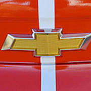 2011 Chevrolet Camaro Hood Emblem Art Print