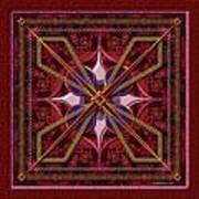 20110730-squares-of-strokes-v6a Art Print