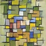 2012 Abstract Line Series Xx Art Print