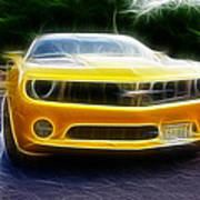 2012 Chevrolet Camaro Rs Art Print