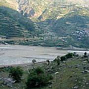 Splendors Of Himalayas Art Print
