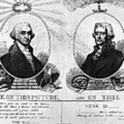 Thomas Jefferson (1743-1826) Art Print