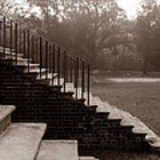 28 Up And Down Steps Art Print