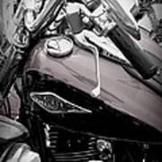3 - Harley Davidson Series Art Print