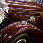 1936 Bentley Art Print