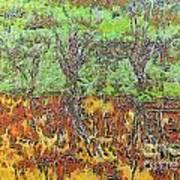 Abstract Artwork Art Print by Odon Czintos