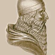 Aristotle, Ancient Greek Philosopher Art Print