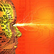 Artificial Intelligence Art Print