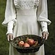Basket With Fruits Art Print by Joana Kruse