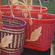 3 Baskets Art Print