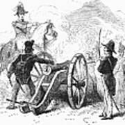 Battle Of Buena Vista Art Print