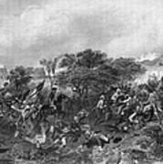 Battle Of Monmouth, 1778 Art Print