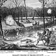 Battle Of Shiloh, 1862 Art Print