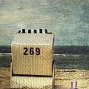 Beach Chair Art Print by Joana Kruse