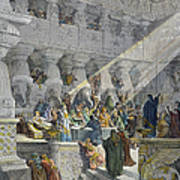 Belshazzars Feast Art Print