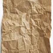 Brown Paper Art Print by Blink Images