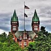 Buffalo Psychiatric Center Art Print