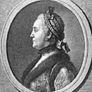 Catherine II (1729-1796) Art Print