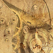 Clockwork Mechanism Art Print