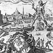 Colossus Of Rhodes Art Print
