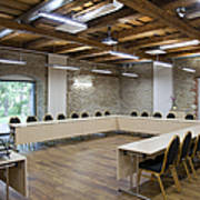 Conference Room Art Print by Jaak Nilson