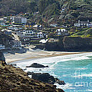 Cornish Seascape St Agnes  Art Print