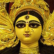 Durga Goddess 2012 Print by Rajan Advani