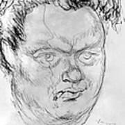 Dylan Thomas (1914-1953) Art Print
